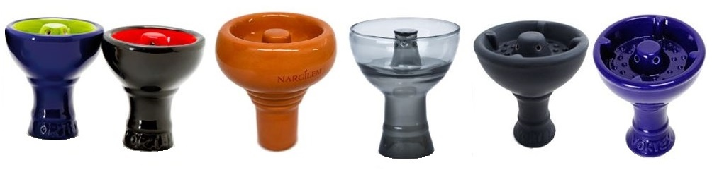 Selection of vortex bowl brand for burning shisha in hookah